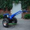 Мотоблок Форте (Forte) МД-81(+Фреза) - дизельный (Синий) 42505