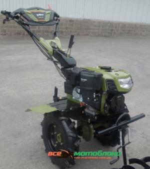 Мотоблок Форте (FORTE) 1050G LUX - бензин (Зелёный)