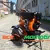 Мотоблок Форте (FORTE) 1050E - дизель (Оранжевый)