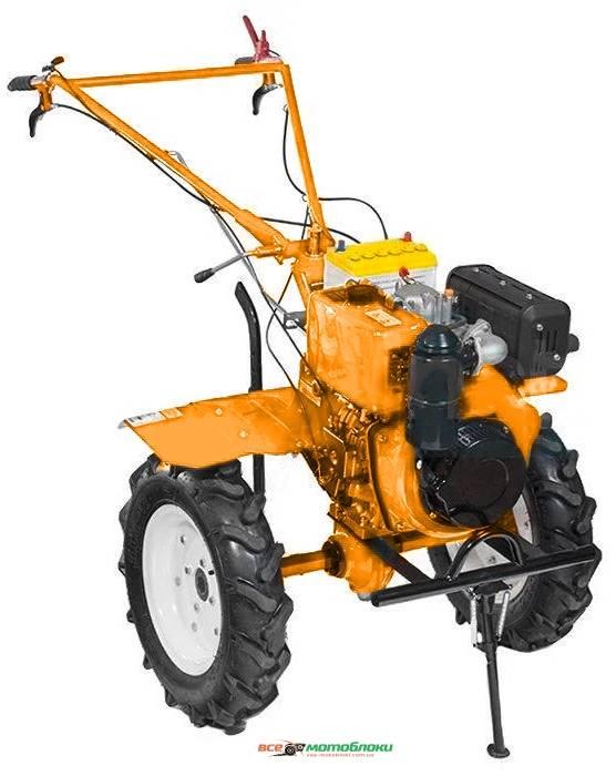 Мотоблок Форте (FORTE) 1350G 13HP - бензин (Оранжевый)