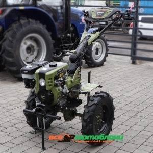 Мотоблок Форте (FORTE) 1350 LUX - дизель (Зелёный)