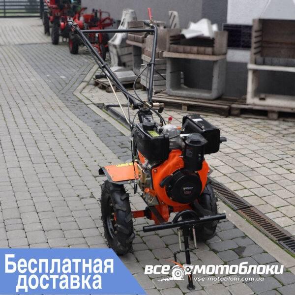 Мотоблок Форте (FORTE) 1050 - дизельный (Оранжевый)