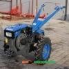 Мотоблок Форте (Forte) МД-101Е(+Фреза) - дизель (Синий) 25668