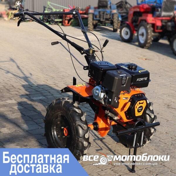 Мотоблок Форте (FORTE) 1350G 9HP - бензин (Красный)