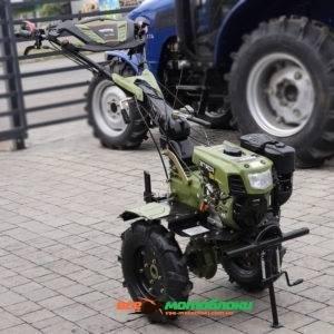 Мотоблок Форте (FORTE) 1050 LUX - дизель (Зелёный)