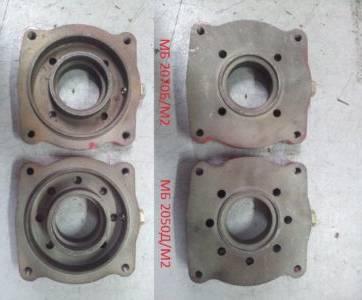 Плита между двигателем и коробкой передач МБ2050Д/М2