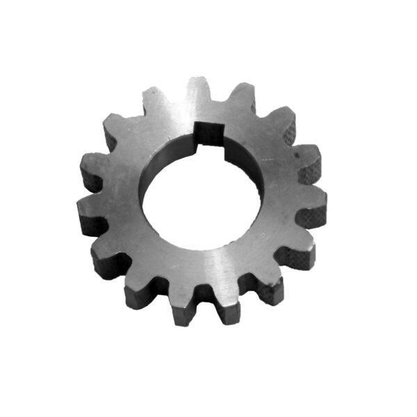 Шестерня ведомая запускающая R175/180 (z=15, под шпонку)