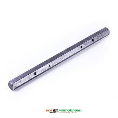 Вал полуоси вторичный (шестигранный) L-545mm - КПП