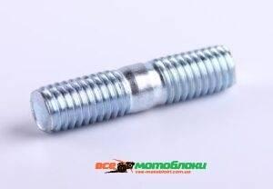 Шпилька крепления глушителя - 168F