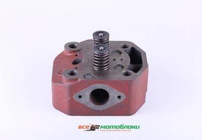 Головка цилиндра в сборе ZUBR (на мототрактор под форсунку ?21mm) - 195N