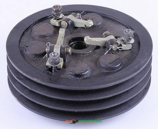 Сцепления в сборе 3 ручья 2 диска (мототрактор) - MFC