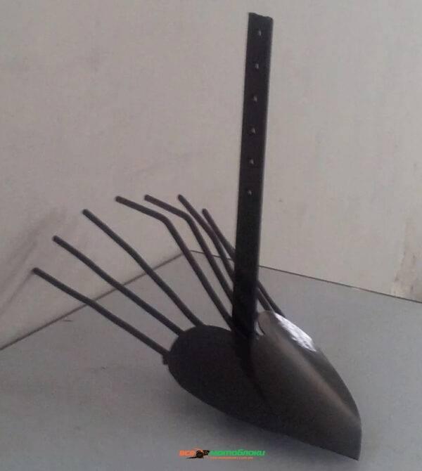 Картофелекопалка веерная