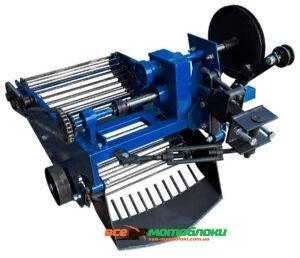 Картофелекопалка вибрационный транспортерная (со смещением прицепного) под мототрактор с гидравликой (Скаут)