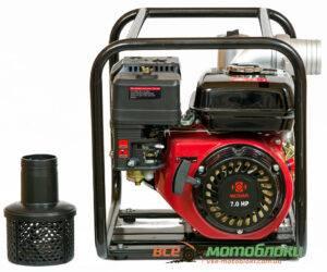 Мотопомпа Бензиновая Weima Chemical PUMP 80-30 (Патрубок 8 см, 60 куб/час)