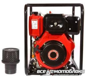 Мотопомпа Бензиновая Weima WMQGZ100-30 (Патрубок 10 см, 120 куб/час, 16 л.с)