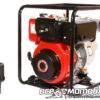 Мотопомпа Дизельная Weima WMCGZ100-30Е (ЭлСтарт, Патрубок 10 см, 120 куб/час) 41985