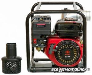 Мотопомпа Бензиновая Weima WMQGZ80-30 (Патрубок 8 см, 60 куб/час)