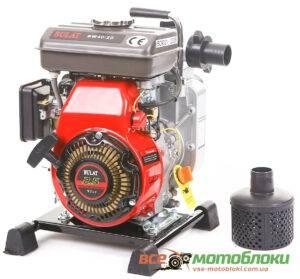 Мотопомпа Бензиновая BULAT BW40/20 (Патрубок 4 см, 27 куб/час)