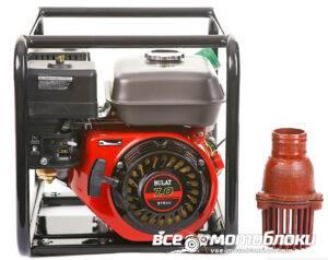 Мотопомпа Бензиновая BULAT BW65/55 (Высоконапорная, Патрубок 6 см, 36 куб/час)