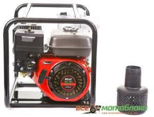 Мотопомпа Бензиновая BULAT BW80/30 (Патрубок 8 см, 60 куб/час)