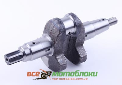 Коленвал голый под шлицы ?25 mm - 186F