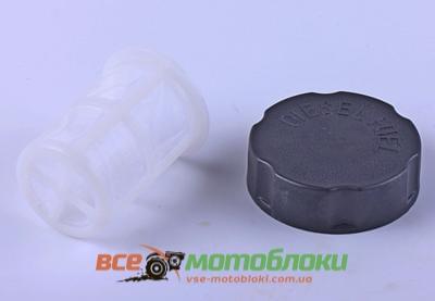 Крышка бака топливного (с сеткой) - 186F
