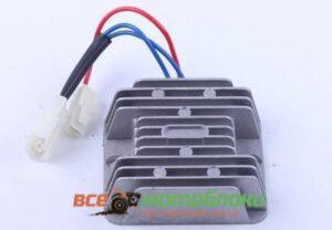 Реле зарядки (2 разъема 3 провода) - 178F/186F