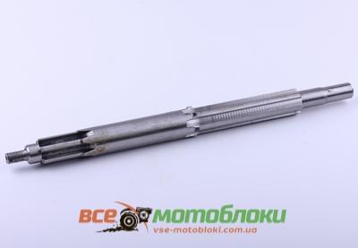Вал первичный (мототрактор) L-390 mm - КПП/6