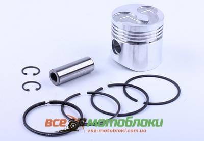 Поршневой комплект 75,0 mm STD (c выборкой под клапана) - 175N