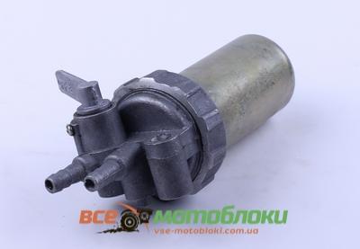 Кран топливный железный стакан (ZUBR original) - 195N