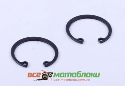 Кольца стопорные пальца поршневого (2 шт.) - 190N