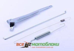 Рычаг привода дроссельной заслонки (с тягой и пружиной) - 188F